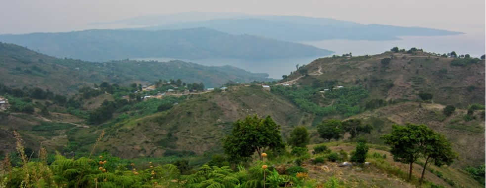 Islands in Congo